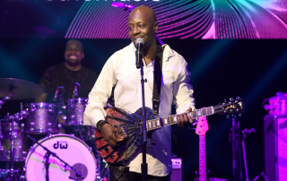 NEW YORK, NY - OCTOBER 16:  Wyclef Jean performs onstage at VH1 Save The Music 20th Anniversary Gala at SIR Stage37 on October 16, 2017 in New York City.  (Photo by Nicholas Hunt/Getty Images for VH1 Save The Music )